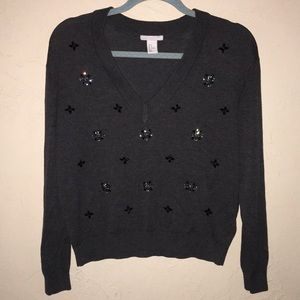 H&M - jeweled sweater 😍😍😍